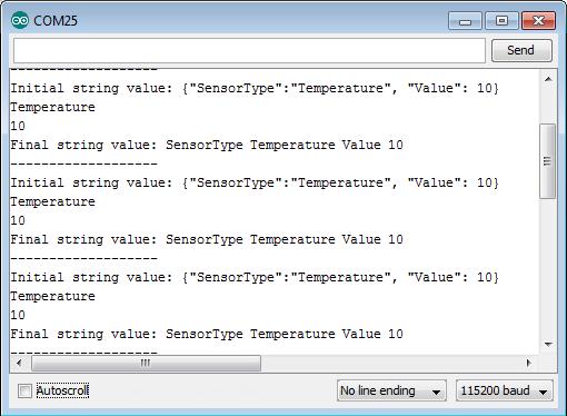 ESP8266: Parsing JSON – techtutorialsx