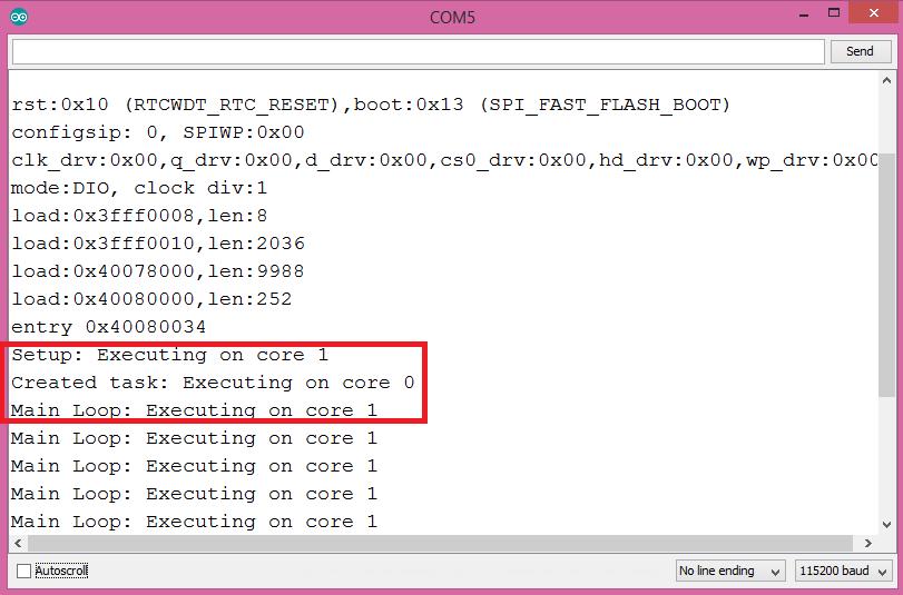 ESP32: Get Task execution core – techtutorialsx