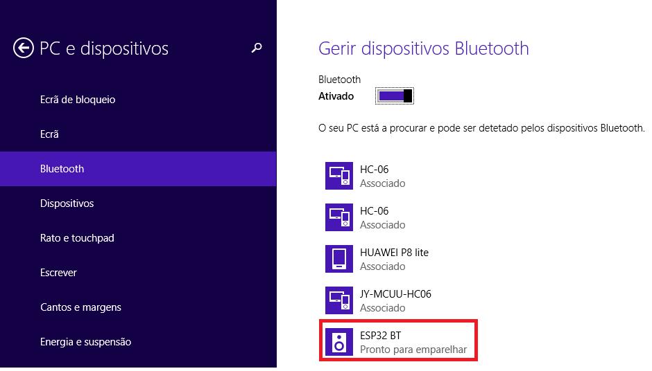 ESP32 Arduino Bluetooth Classic: Setting the device name