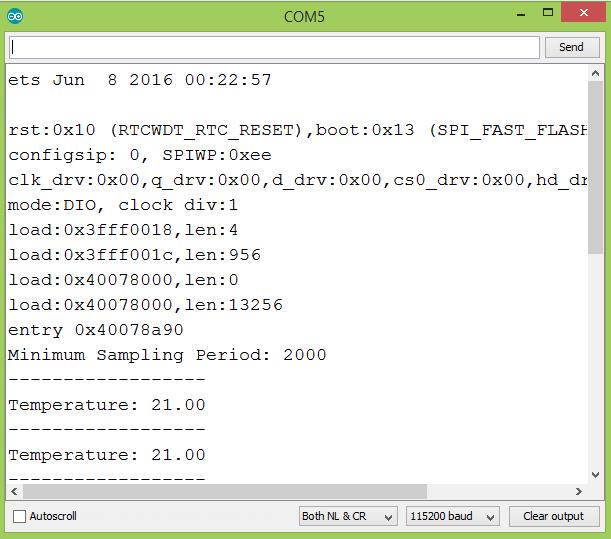 ESP32 Arduino: DHT22 Minimum Sampling Period – techtutorialsx